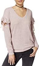 Crave Fame by Almost Famous Womens Juniors Fleece Heathered Pullover Sweater