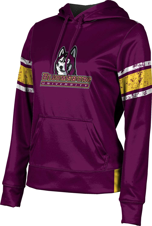 ProSphere Bloomsburg University Girls' Pullover Hoodie, School Spirit Sweatshirt (End Zone)