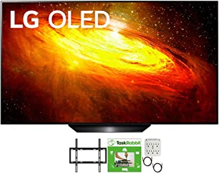 LG OLED55BXPUA 55 inch BX 4K Smart OLED TV with AI ThinQ 2020 Model Bundle with TaskRabbit Installation Services + Deco Ge...