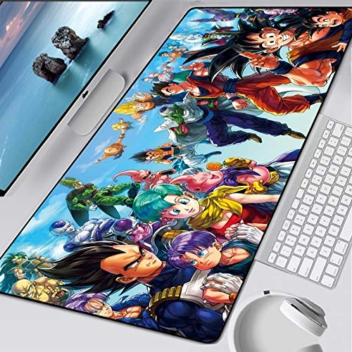NC56 Large XL Dragon Ball Mouse Mat Anime Laptop Mouse Pad Notbook XXL Computer Keyboard Gaming Mousepad Gamer Play Mats 900x400mm