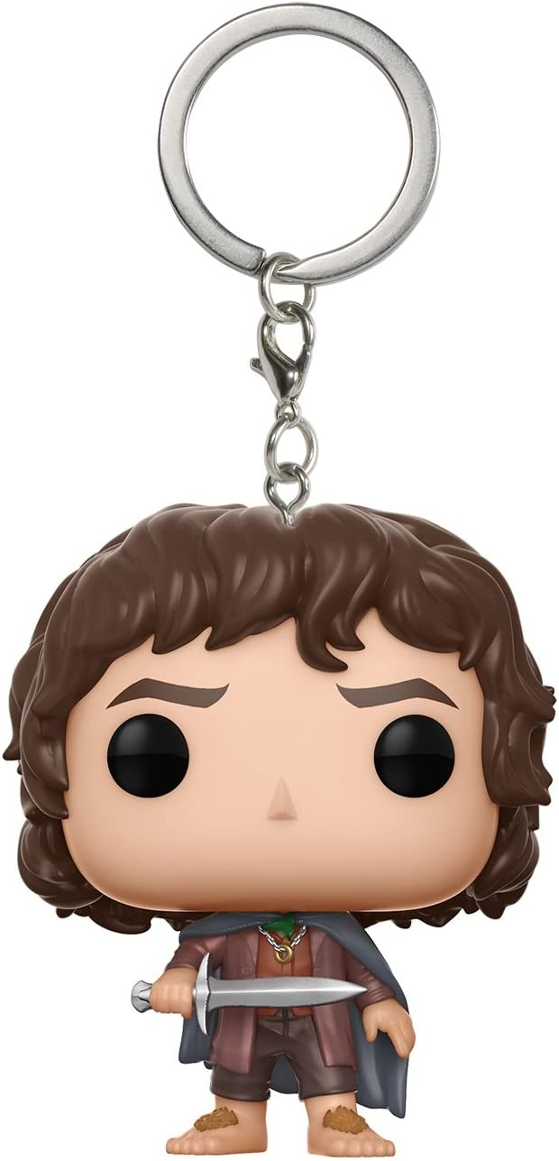 LEGO figurine FRODON BAGGINS The Lord of the Rings Keychain//Porte-clés