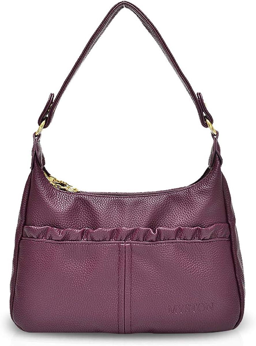 NICOLE&DORIS 2018 Women Practical Tote Handbags Shoulder Bag Crossbody Bag Hobo Satchel Purse PU Leather