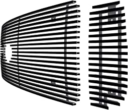 Off Roader Black Stainless Steel eGrille Billet Grille Grill for 99-04 Ford F250/F350/Excursion