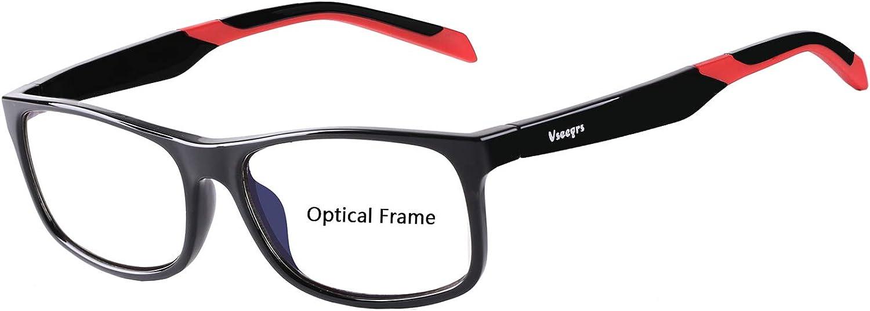 Eyewear FramesVseegrs Fashion Rectangle NonPrescription Optical Eyeglasses Frame