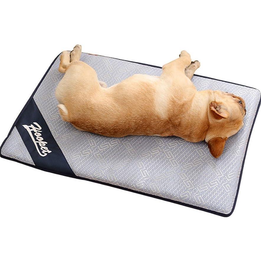 資料こねる規制山の奥 ペットクールマット 座布団 冷却 冷感 犬猫用 多用途 夏 熱中症 対策 ペット用品 PC用 車用 椅子用
