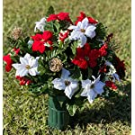 Deluxe-Red-White-Poinsettia-Cemetery-Vase-Arrangement