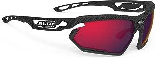 Rudy Project Gafas de Sol Bicicleta fotonyk carbonium/Lente multilaser Red/Bumpers Black