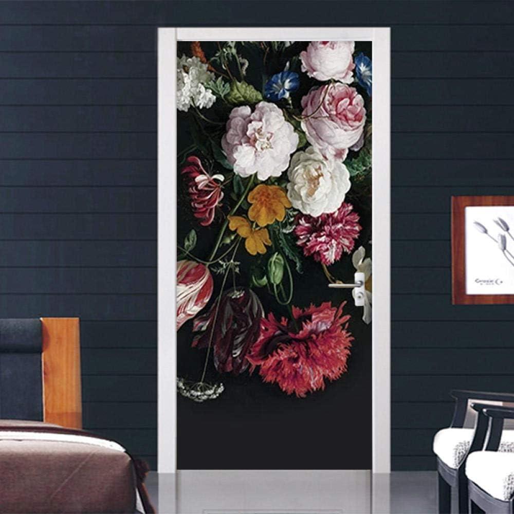 Ryutp 3D Spasm price Door Al sold out. Stickers Mural Self-Adhesive Wall D DIY Vinyl