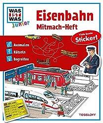 Was ist Was: Eisenbahn Mitmach-Heft