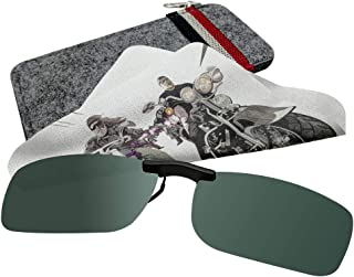 Prescription Clip On Sunglasses for Men Women Kids, Polaried Sunglasses Clip On
