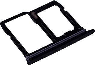 Alovexiong Black Nano SIM + Micro SD Memory Card Holder Slot Tray Replacement for LG Stylo 4 / Q Stylus Q710/ Q8