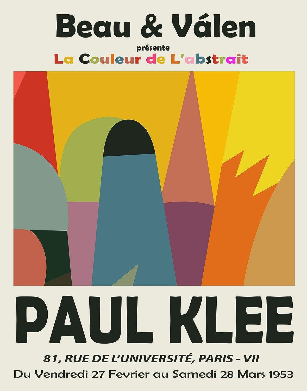 Klee Wall Art Berner Kunstmuseum Modern Minimalist Wall Gallery, Paul Klee Art Print Paul Klee Poster