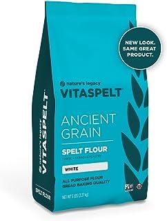 Vita Spelt White Flour, 5-pounds