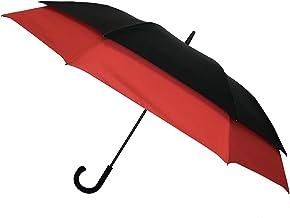 SMATI Parapluie Deux Places Rouge 130 cm Ultra résistant au Vent