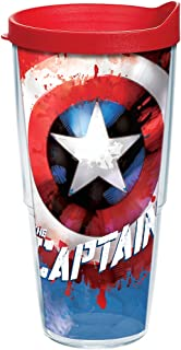 captain america tervis cup