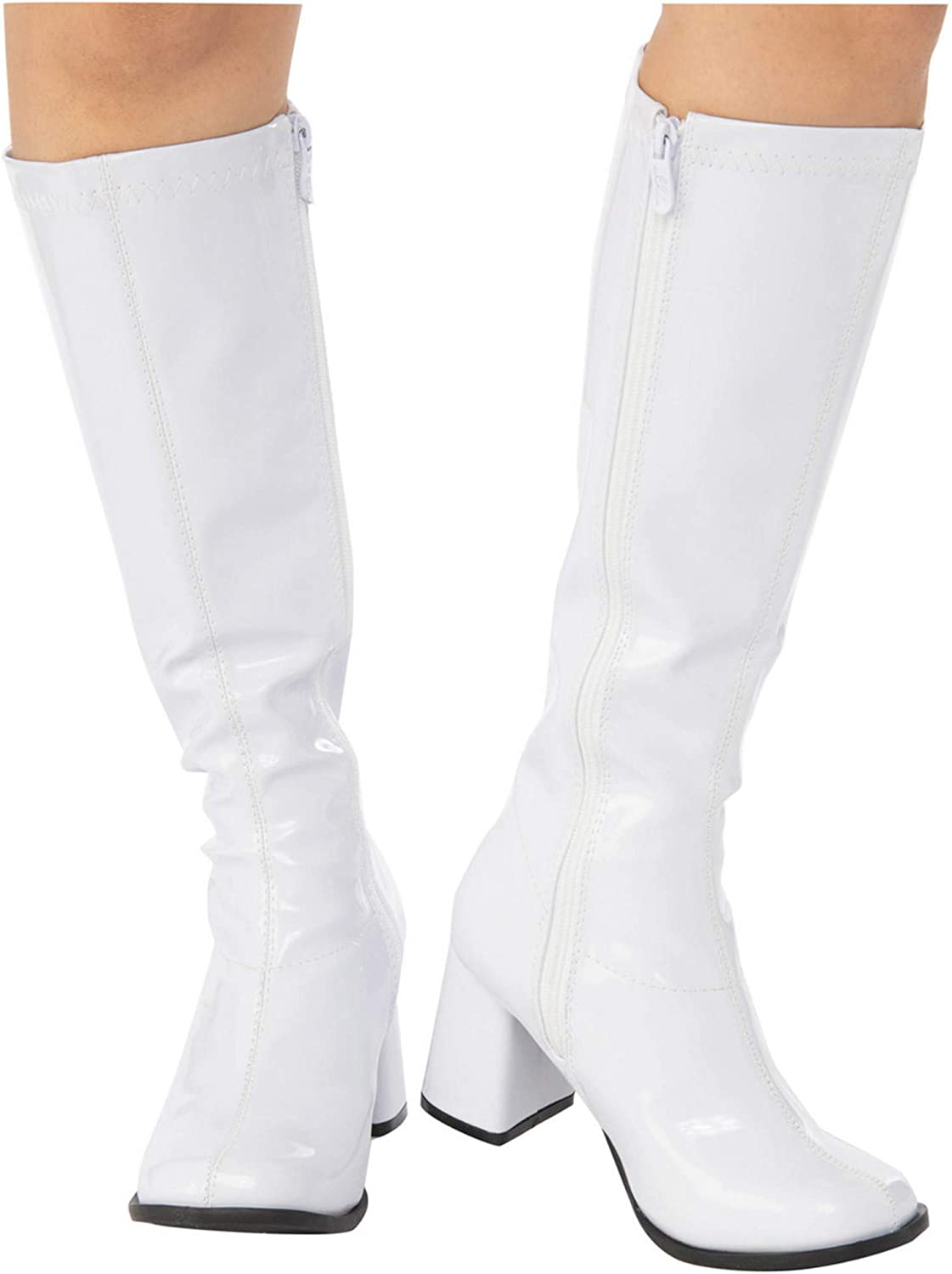 Amazon.com: White GoGo Boot for Adults