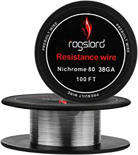 Resistance Wire Nichrome 80-38 AWG Gauge Spools 100 '