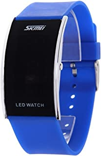Unique LED Watch Fashion Sport Digital Watch for Boys Girls Men Women Wristwatch