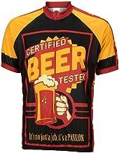 Moxilyn Men Biking Shirt Mountain Bike Shirts 3D Beer Cycling Jersey - Funny Bicycle T-Shirt