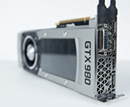 Nvidia GeForce GTX 980 4GB GDDR5 PCIe 3.0 x16 SLI DVI/HDMI/DP Gaming Graphics Card Advanced GPU