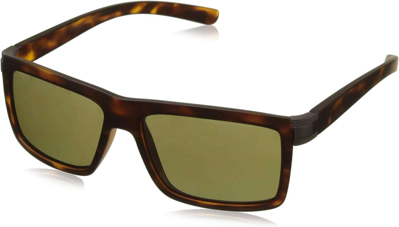 SERENGETI Brera Sunglasses (Satin Tortoise Frame Polarized 555NM Lens)