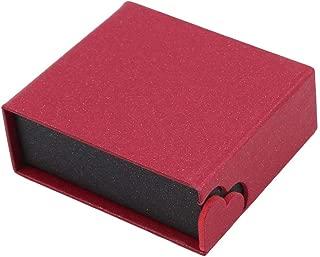 SHIJIAN - Caja de Regalo para Novia, con Ventosa, Plegable, para Collar, Reloj, Pulsera, Pendientes, Anillo, Pendant Box, As Description