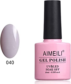 AIMEILI Soak Off UV LED Gel Nail Polish - Cashmere Kind of Gal (040) 10ml