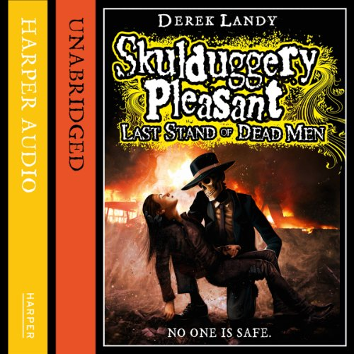 Last Stand of Dead Men audiobook cover art