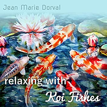Relaxing With Koi Fishes