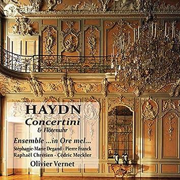 Haydn: Concertini & Flötenuhr (Concertini pour clavier, 2 violons & basse)