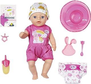 Zapf Creation 827321 Baby Born Soft Touch Little Girl Pop Met Functies En Accessoires, 36 Cm, Meerkleurig
