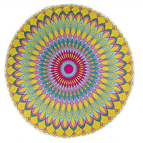 OOTB Out of the blue - Toalla de Playa, diseño de Mandala,...
