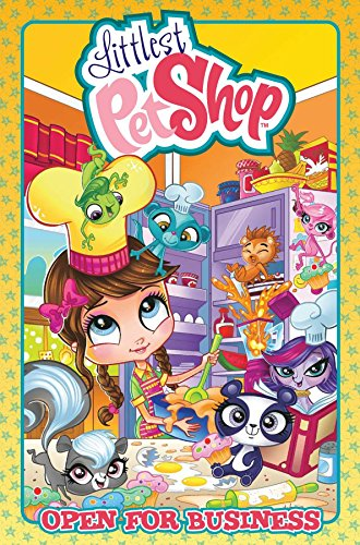 Littlest Pet Shop: Open For Business -  Ball, Georgia, Illustrated, Hardcover