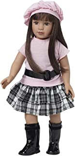 Starpath Brunette Girl Doll – 18' Vinyl, Included Custom Fairy Tail e-Book Starring You and Your Star Path Doll. Fits American Girl Clothing