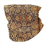 Antigua alfombra persa malayer para el cuello, bandana, transpirable, pañuelo para la cara, pasamontañas, antiviento, antipolvo, para hombres y mujeres