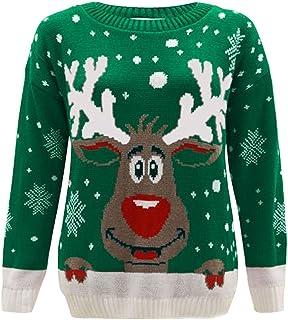 Donna Natale Novità Rudolph Prosecco Ho Ho Ho Maglione Felpa