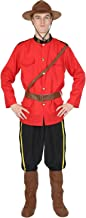 Orion Costumes Mens Canadian Mountie Police Uniform Outfit Fancy Dress Costume