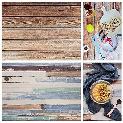 Selens - Sfondo pieghevole 2 in 1, 56 x 88 cm, per gourmet blogger, cosmetici, negozi online