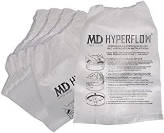 MD 5-Pack HyperFlow Paper Bags 8-gallon …