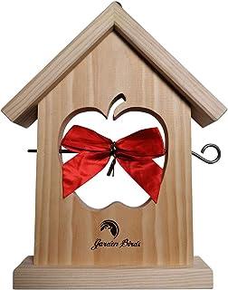 NUISIPRO Mangeoire à Oiseaux - Bois Haute qualité - Idée Cadeau Original!