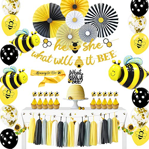 What Will It Bee Gender Reveal Party Supplies