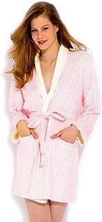 short sleeve towelling robe
