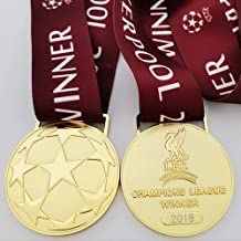 2019 LIVERPOOL Medaille UEFA voor Champions League voetbal kampioen gouden medaille Fan memorabilia metalen replica Anti-c...