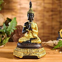 PPCP Sakyamuni Buddha Statues Meditation Sitting Adoring Charming and Serene Little Buddha Statues Buddhist Supplies (Size...