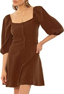 Amuse Raya SS Woven Dress COC L