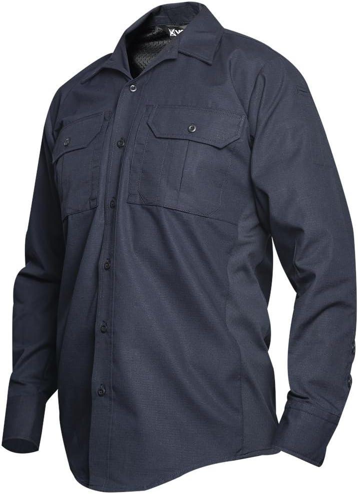 Vertx Men's 2Xsmall Reg Trust Phantom Lt trend rank Shirt Navy Sleeve Long