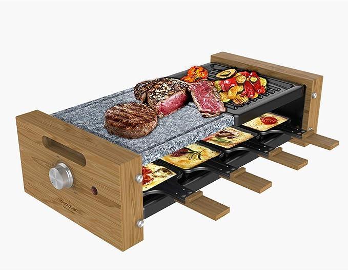 34 opinioni per Cecotec Raclette Cheese&Grill 8400 Wood MixGrill. Raclette in legno con grill da