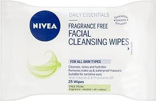 Nivea Visage Cleansing Wipes Single Pack Frangrance Free