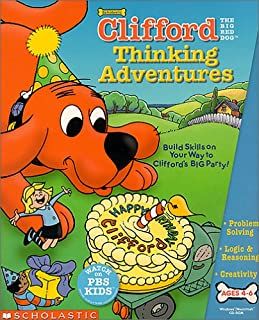 Clifford The Big Red Dog Thinking Adventures - PC/Mac