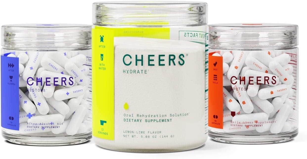 Rapid rise Cheers Super Combo - Ora Gorgeous Restore Hydrate Capsules